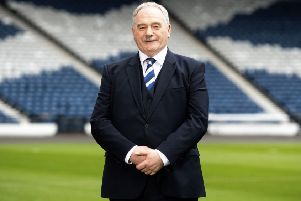 Rod Petrie has been urged to make more public statements in his new role as SFA president. Picture: Gary Hutchison/SNS