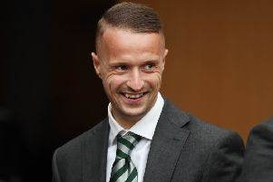 Leigh Griffiths is back in full training. Picture: SNS