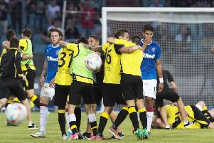 Rangers suffered a humiliating European defeat by Luxembourg part-timers Progres Niederkorn in 2017. Picture: Craig Foy/SNS