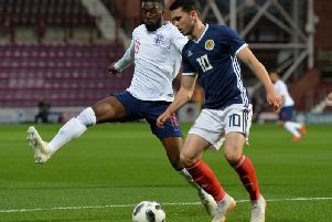 Celtic and Scotland midfielder Lewis Morgan.