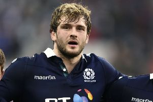 Richie Gray is not in Scotland's extended pre-world cup squad. Picture: Ian Rutherford