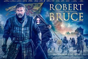 Angus Macfadeyn will launch his new Robert the Bruce movie at the Edinburgh International Film Festival on Sunday.