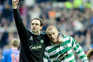 Former Celtic manager Martin O'Neill thinks current incumbent Neil Lennon will have some sleepless nights. Picture: SNS.