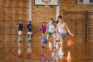 Only 11 per cent of 13-15-year-old girls in Scotland meet the official guidelines for physical activity. Picture:  Getty.