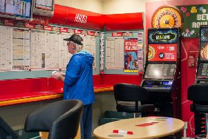 A betting shop. Picture: Ian Georgeson