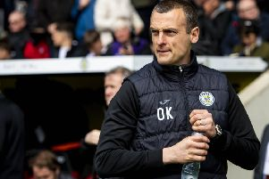 St Mirren look set to lose manager Oran Kearney. Picture: SNS