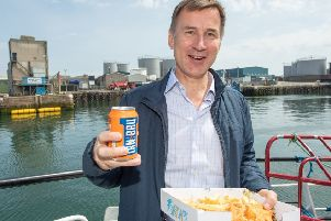 Jeremy Hunt pledged to defend the union. Picture: PA
