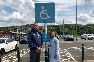 Doddie Weir and MSP Rachael Hamilton are leading campaign. Picture: contributed
