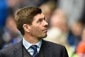 Steven Gerrard is wanted by Derby County. Picture: SNS