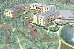 An artist's impression of the development. Picture: BMJ