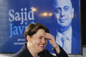 Ruth Davidson backed Sajid Javid, then Michael Gove and now supports Jeremy Hunt. Picture: AFP/Getty
