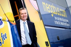 Stagecoach is led by its chief executive Martin Griffiths. Picture: Fraser Band