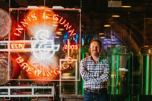 Dougal Sharp,founder and master brewer at Edinburgh-based Innis & Gunn, which is one of 38 inspirational Scottish companies included in the London Stock Exchange report. Picture: Contributed