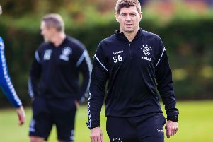 Steven Gerrard is on Newcastle United's managerial shortlist. Picture: SNS