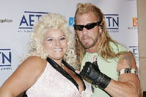 Beth Chapman and husband 'Dog' in 2005 (Picture: Fernando Leon/Getty Images)