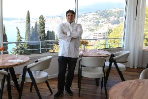 The Mirazur is a good restaurant with amazing views, but best in the world? Stephen Jardine doesn't think so (Picture: Valery Hache/AFPGetty Images)
