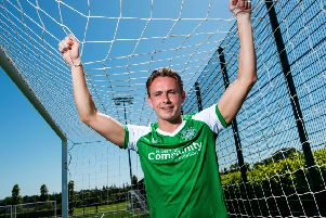 Scott Allan is back at Hibs for a third spell. Picture: SNS
