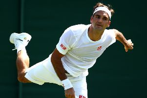 Tim Henman doesn't see any signs of veteran champion Roger Federer slowing down. Picture: Clive Brunskill/Getty Images