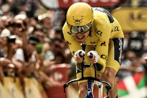 Geraint Thomas won last year's Tour de France. Picture: AFP/Getty Images