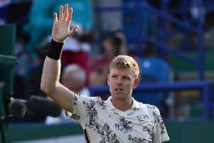 Kyle Edmund hopes last year's run to the third round will stand him in good stead at Wimbledon. Picture: AFP/Getty.
