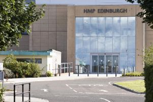 Weapons seizures at HMP Edinburgh more than tripled in 2018. Pic: Ian Georgeson.