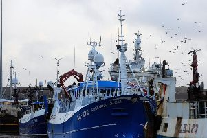 Fishermen in Shetland say rising numbers of foreign gill-netters and longliners are causing an increase in plastic pollution in Scottish seas and crowding out local boats