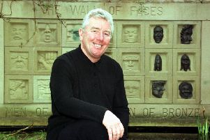 Jimmy Boyle, pictured here in 1998, was given a life sentence for murder in 1967 and became an artist in prison (Picture: Adam Elder)