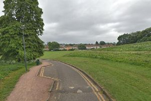 The incident happened in Inch Park. Pic: Google Maps