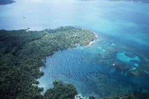 Site of New Caledonia on the  Darien Pennisula, Panama. Pic: contributed