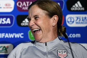 US head coach Jill Ellis has led her team to victory at the last two Women's World Cup finals. Picture: AFP
