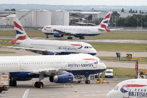 British Airways is facing a �183 million fine for failing to protect people's data (Picture: Steve Parsons/PA Wire)