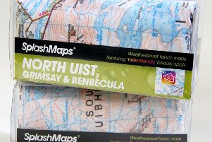 Insta-friendly charity maps for the Uists go on sale.