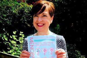 Know Your Menopause  Elizabeth Carr-Ellis 'Pausitivity''MENOPAUSE: Scot Govt has given its support to a new campaign raising the awareness of the symptoms of the menopause. Poster campaign for GP surgeries has been launched by former Scotsman sub editor Liz Ellis