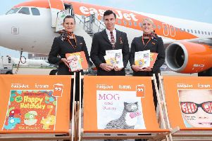 EasyJet are launching a Flybrary scheme.