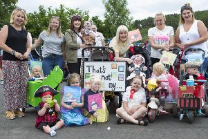 Earlston Civic Week : Saturday's children's sports and fancy dress parade.