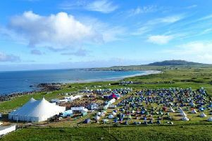 Tiree Music Festival. Picture: Alan Peebles.