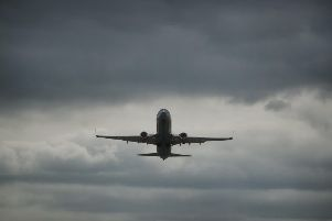 Flights are suspended at Gatwick Airport.