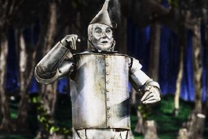 Jack Haley as the Tin Man in 'The Wizard Of Oz. Picture: Mgm/Kobal/Shutterstock (5886294ed)