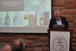 Paul Miller was presented with Global Marketer of the Year at the 22nd Academy of Marketing Science world congress at the University of Edinburgh. Picture: Contributed