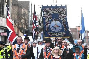 Marching bands and loyal order lodges paraded through streets of Glasgow last weekend. Picture: John Devlin