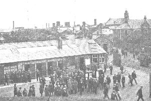 "Up to 13,000 people worked at the British Dynamite Factory at Ardeer in North Ayrshire with a ""mini town"" - complete with bank, tourist agency, a dental surgery and a train station - developing around the plant. PIC: North Ayrshire Councils Heritage Service."