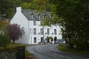 The Weem, an historic inn near Aberfeldy, attracts high-ranking folk, jazz and blues musicians