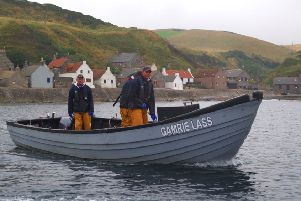 Members of the Pullar family prepare to lay their nets. Picture: contributed
