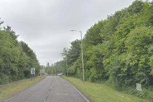 The incident occurred on the A911 between the Rothes and Leslie roundabouts.