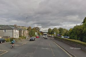 The incident happened on the A72 in Peebles