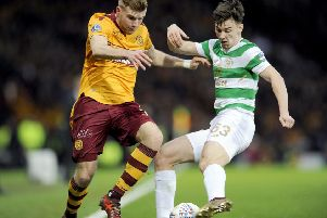 Celtic want �25 million for defender Kieran Tierney. Picture Michael Gillen.