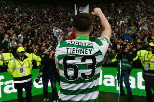 Celtic full-back Kieran Tierney
