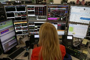 Shares in Scottish companies listed on the FTSE and Aim underperformed against the indexes in the first six months of 2019, according to analysis from Brewin Dolphin. Picture: AFP/Getty Images