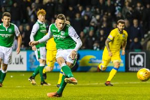 Anthony Stokes had three spells with Hibs. The Irishman is set to sign for the 11th club of his career