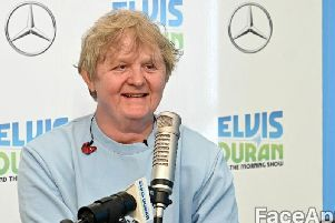 Singer-songwriter Lewis Capaldi's older version has a touch of Gordon Strachan about him (Photo: Getty/FaceApp)